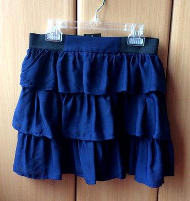 Suknje - Srbija: Tally Wejil nova suknjica sa etiketom, sa karnericima, materijal kao