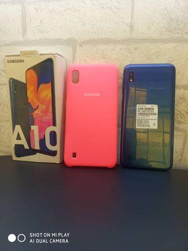 Новый Samsung A10 32 ГБ Синий