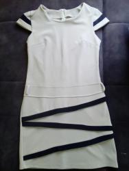 Elegantna haljina Krem boje  - Belgrade