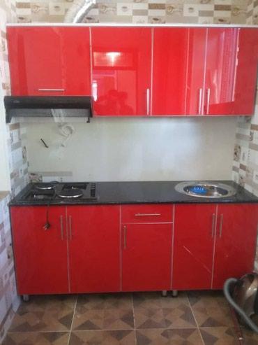 Кухня акрыл погонный метр 10000сом.Мебель на заказ все виды. в Бишкек