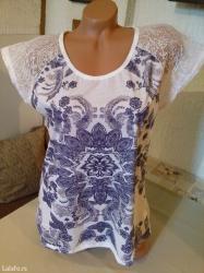 Nova zenska bluza sa cipkom efbu. Turska. Vrlo lepa zenska bluza za - Belgrade