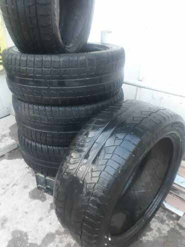 шины 205 55 r16 зима в Кыргызстан: Продаю зима Бриджстоун размер 205/55/r16 2012года 4штеще 1шт лето
