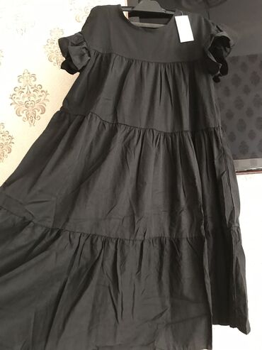 zhenskie velyurovye platya в Азербайджан: Платье Свободного кроя A-Dress XXL