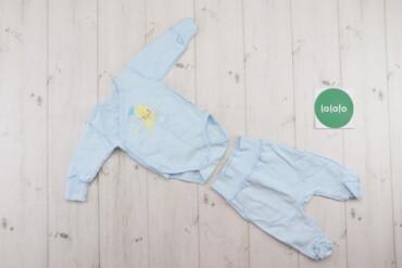 Дитячий комплект для новонародженого Flamingo (боді та повзунки), вік