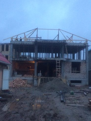 Строим дома от котлавана да крыши # в Бишкек