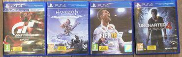 геймпад для гонок в Кыргызстан: Продам PS4 б/уВ комплекте 2 геймпада 4 игры ( все на фото )Нет родного