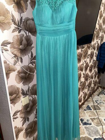 Продаю зелёное платье . С орнаментами в Кыргызской стиле . Качество ши