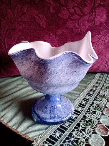 Vaza nova duvano staklo iz