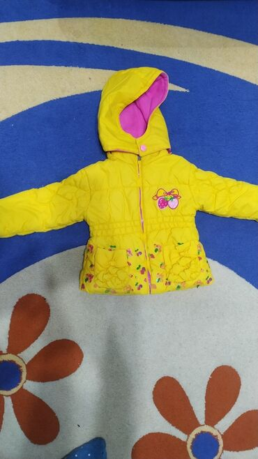 Куртка осень или еврозима на 2-3 годаОчень теплая, качественнаяВсего