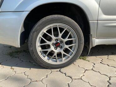 Продаю диски с резиной BBS R17 оригинал, разболтовка 5/100