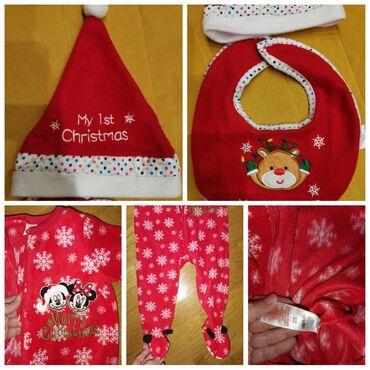 Dečija odeća i obuća - Smederevska Palanka: Novogodisnja Disney, Minnie zeka sa kapom i portiklomVel od 9-12