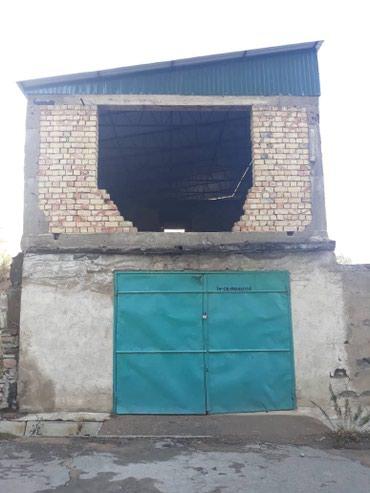 Продаю недостроенный дом плюс гараж в Бишкек