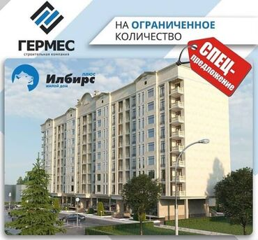 Продажа квартир - Бронированные двери - Бишкек: Продается квартира: Элитка, Аламедин рынок, 2 комнаты, 47 кв. м