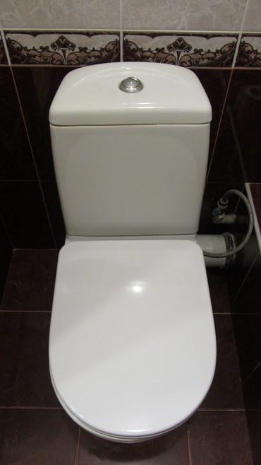 УНИТАЗ. В РАБОЧЕМ СОСТОЯНИИ. ЧЕХИЯ. С небольшой трещиной внутри. в Бишкек