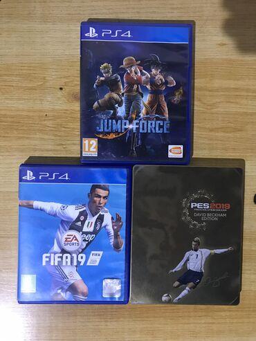 games-for-3ds в Кыргызстан: Jump Force, FIFA 19, PES 2019 (Pro Evolution Soccer)  Все диски лиценз