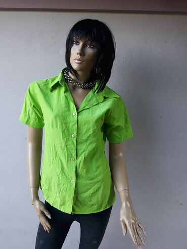 Košulje i bluze | Prokuplje: Zelena košuljica kao nova bez ikakvih ostecenja Veličina M/LPogledajte