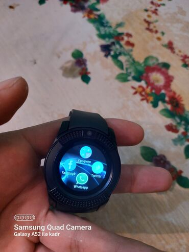 22 elan | ŞƏXSI ƏŞYALAR: Smart saat satılır 50azn real alıcılar narahat etsin Nömrə gedir Kart