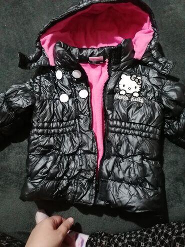 Dečija odeća i obuća - Velika Plana: Preslatka jaknica za curice, 92 velicina, nosena jednu sezonu