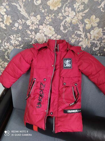 вешалка для верхней одежды бишкек в Кыргызстан: Куртка зимняя удлинённая на 4-6 лет Качество и состояние отличное
