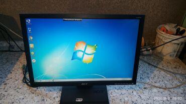 Другие комплектующие в Кыргызстан: Монитор Acer 19 размер в отличном рабочем состоянии цена 2500 сом