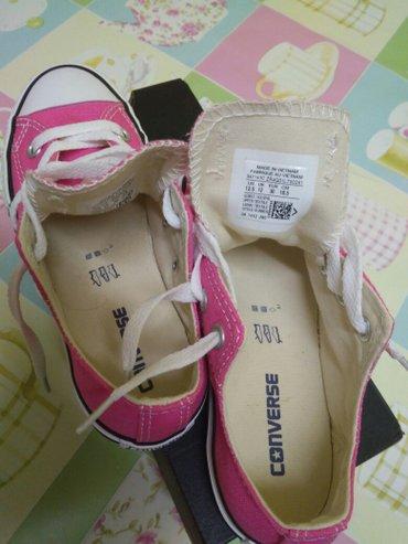 Παιδικά παπούτσια για κορίτσι χρώμα φούξια  converse all star νούμερο  σε Σέρρες - εικόνες 3