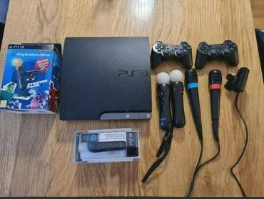 soni playstation 2 в Кыргызстан: PlayStation 3 slim 500 gb. Прошитая состояние идеальное . Внутри более