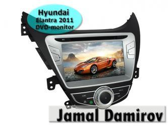 Bakı şəhərində Hyundai Elantra 2011 üçün DVD-monitor.
