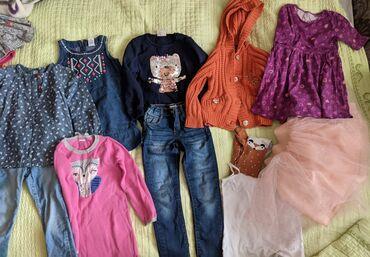 Пакет вещей на девочку 4-5 лет. Половина вещей фирменных. Вайкики