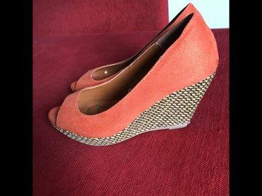 Narandžaste sandale na platformu u broju 36 dobro očuvane 😃😃 - Trstenik
