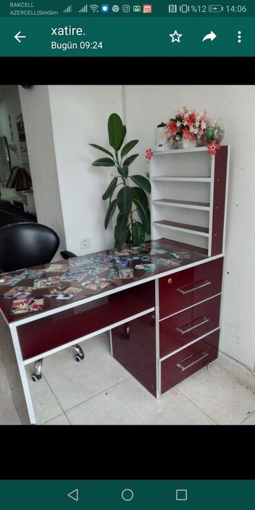 turkan - Azərbaycan: Manikur stolu. Mdf materyaldan yigdirilib.qiymet 220manat. Yenidir
