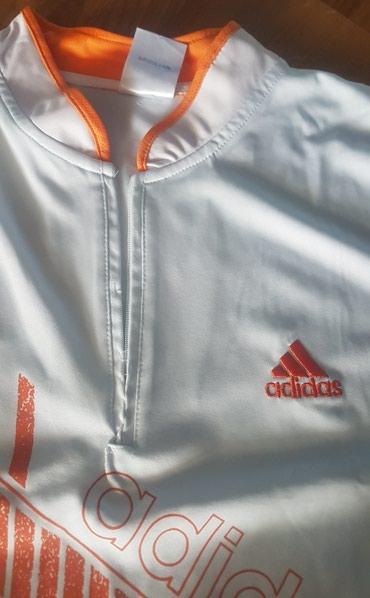 Adidas-l-velicina - Srbija: Adidas original sportska majica bela, za sport ili trening. Rajsfeslus