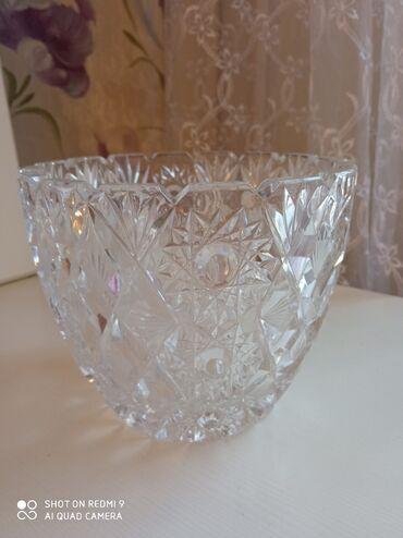 диски бу ваз в Кыргызстан: Хрустальная ваза СССР новая
