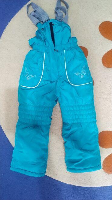 Лыжные штаны, детские фирменные на 5-6 лет, идеальное состояниеНа рост