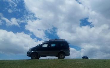 Трансфер по всему Кыргызстану.Внедорожник Митсубиси Делика.4×4.7