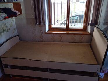 Односпальные кровати - Кыргызстан: Продаю кровать односпальнюю. В наличии имеется 3 кровати. Новые