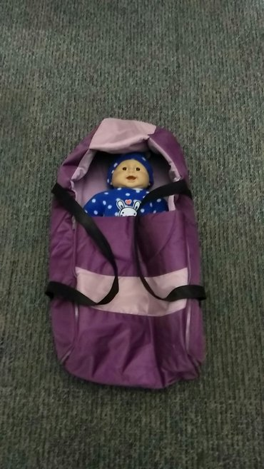 Продаю переноску для ребенка, состояние нового в Кок-Ой