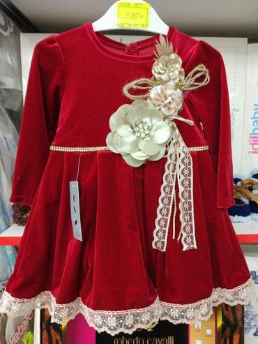 Платье для девочки велюровое, в Бишкек