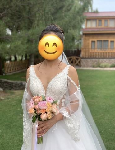 Продаю шикарное свадебное платье! Надевала один раз) Платье от Daria K