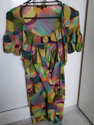 """Kratka neobicna haljina """"Roberto Cavalli"""" S/M/L - Sabac"""