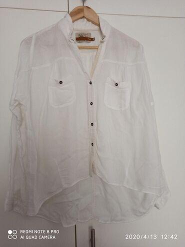 Φανταστικη πουκαμισα πιο μακρυα απο πισω! Bershka medium