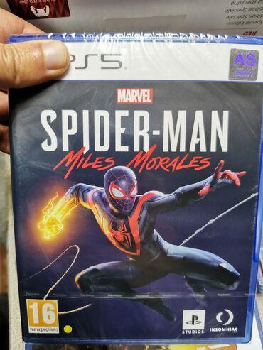 диски asa в Азербайджан: Ps5 oyun diskləri Playstation 5 oyunları Spiderman miles morales Nba 2