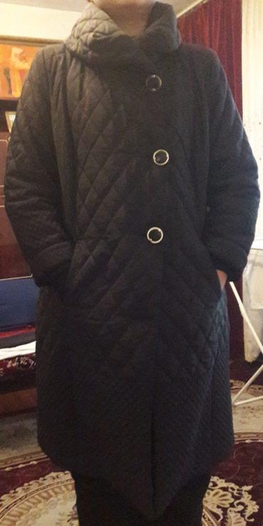 Б/у Стёганное пальто, в отличном состоянии. Размер 48-50. в Бишкек
