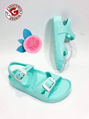 Bez cipele - Srbija: Grubin vodootporne anatomske sandale za devojčice i dečakeRoze -24 30