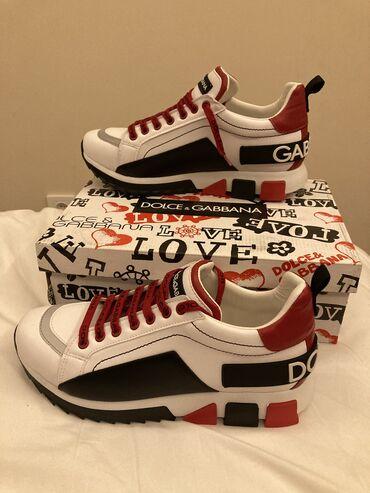 Dolce Gabbana patike  Crvene i crno bele
