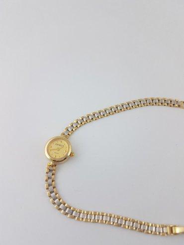Длина20 см. часы наручные. золото 585 проба. желтое. в Бишкек