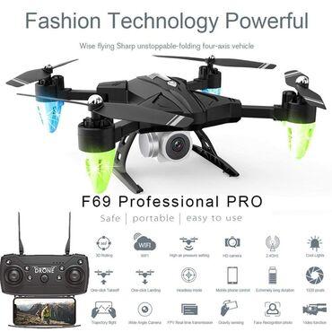 Sport i hobi - Sremska Mitrovica: 5300 dinF69 DRONE DISCOVERY 2 - 4K Kamera Ocene ljubitelja dronova