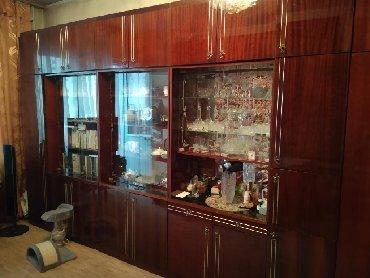 шкаф-3 в Кыргызстан: Стенка. 3 секции. В хорошем состоянии