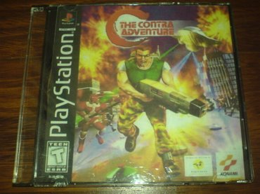 PS2 & PS1 (Sony PlayStation 2 & 1) Azərbaycanda: Contra 4in1 adventure playstation 1 ucun qiymet sondur