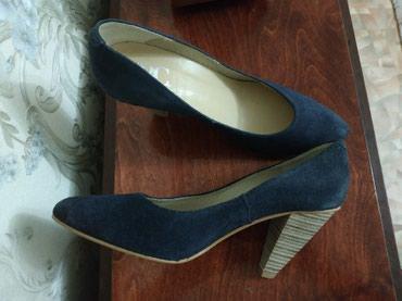 Замшевые туфли. Размер 38. в Бишкек