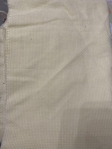 Ткань холст для вышивки крестиком 1 метр на 30 см